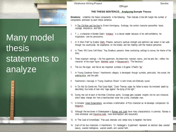 Essay middle school topic